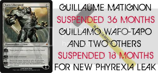 WotC Suspends Guillaume Matignon &#038; Guillaume Wafo-Tapo for New Phyrexia Leak