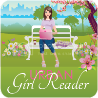 Urban Girl Reader Button